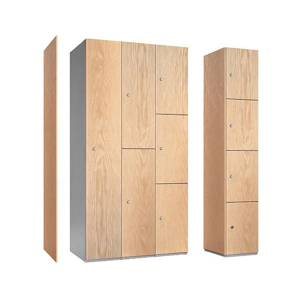 Timber Effect Lockers
