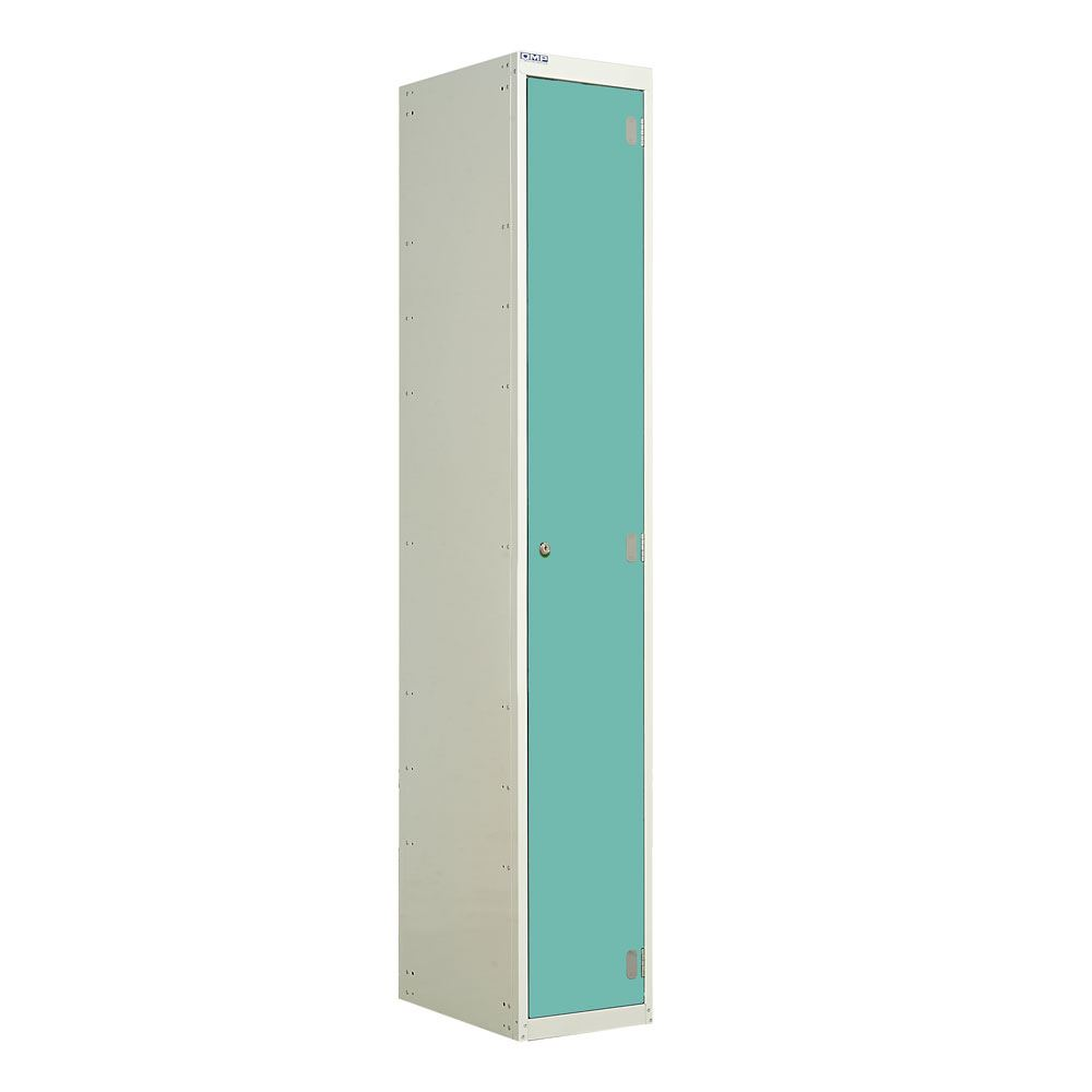Laminate locker single door dry area 3d lockers for Wood lockers with doors