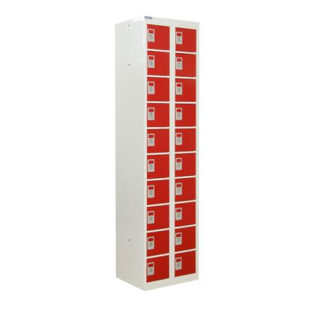 Personal Effects Locker 20 Compartments Tall