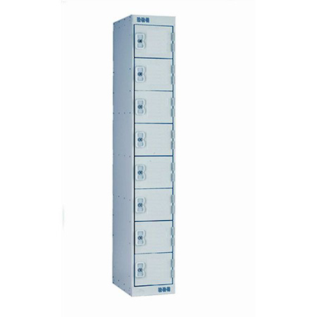 Metal Lockers Eight Door